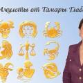 Амулеты от знаменитого астролога Тамары Глоба