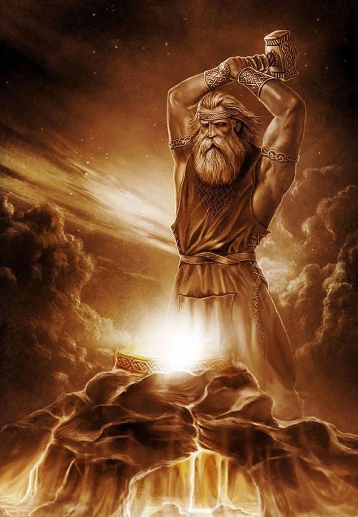 Славянский бог Сварог