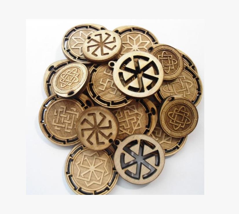 Славянские деревянные амулеты