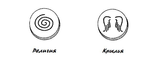 Религия и пиктограмма