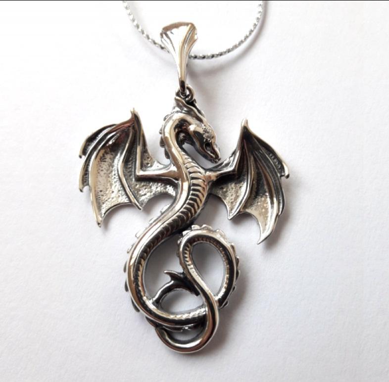 Амулет с драконом