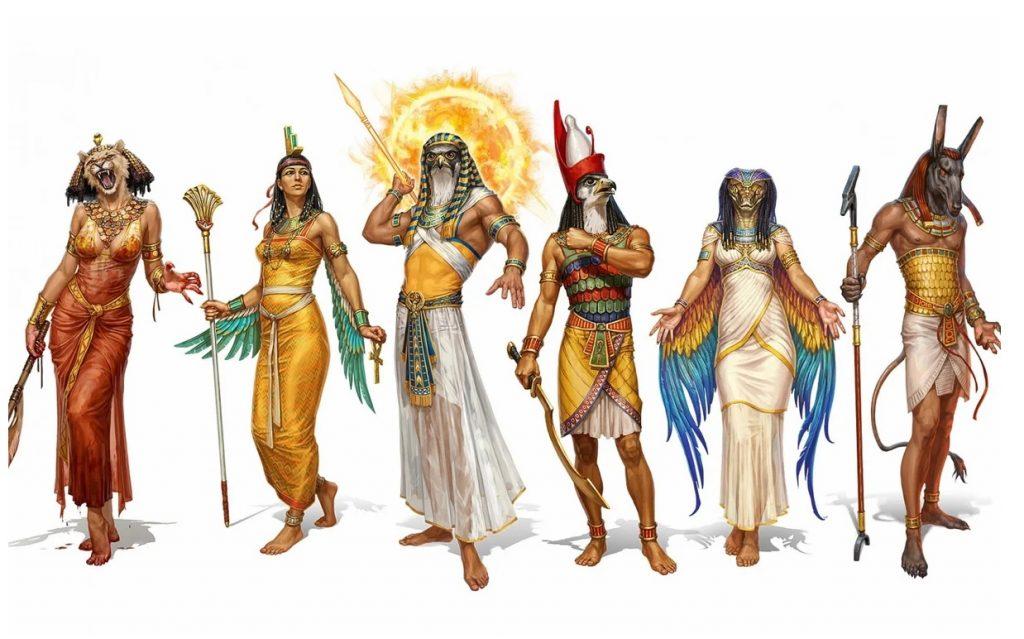 Египетская мифология боги