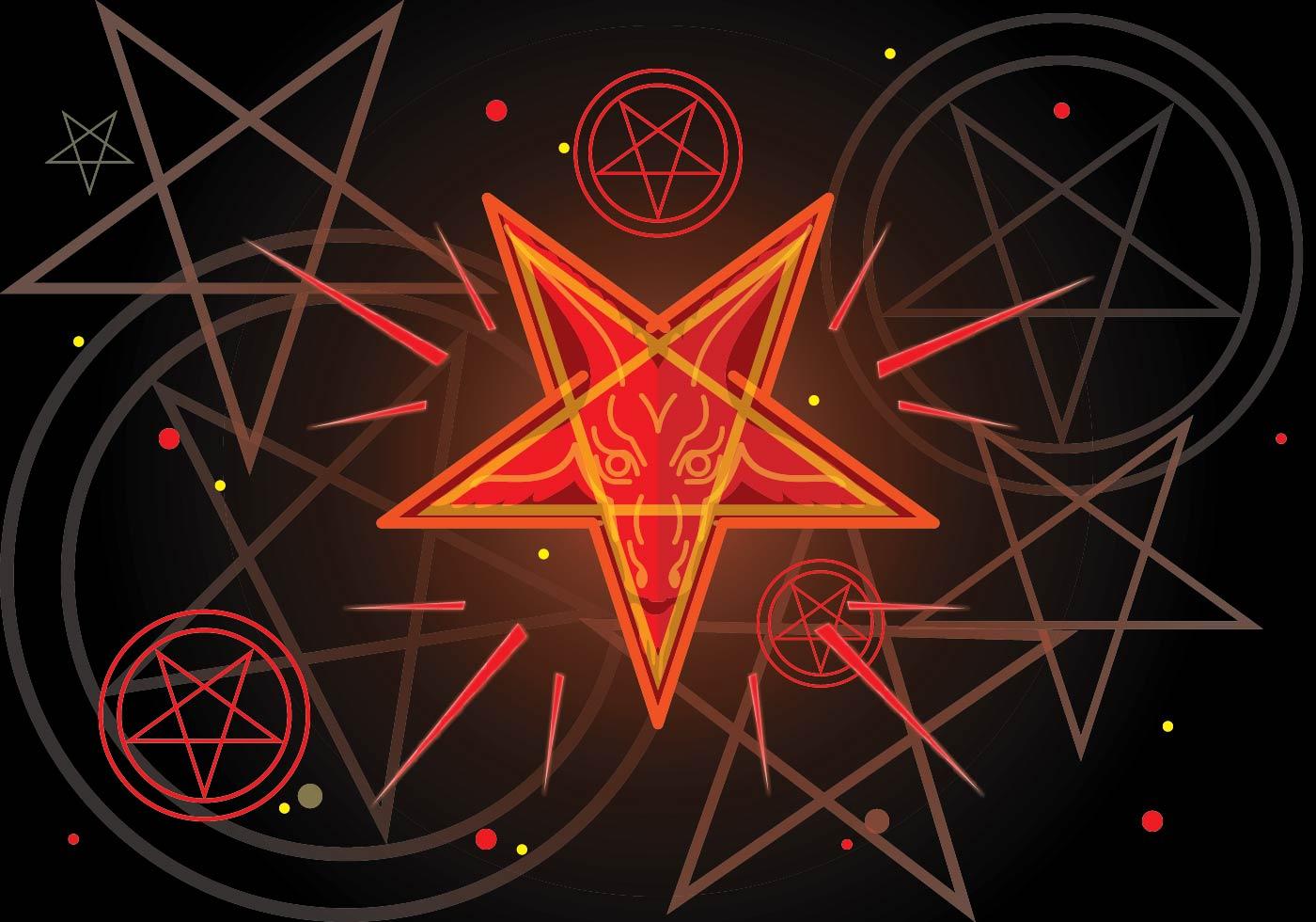 Картинка перевернутая звезда