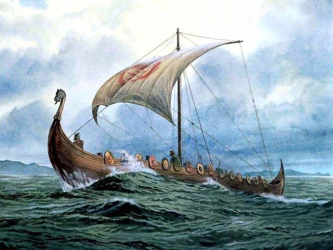 Скандинавский драккар