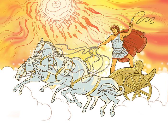 Бог солнца Гелиос