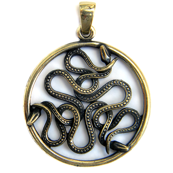 Амулет со змеями