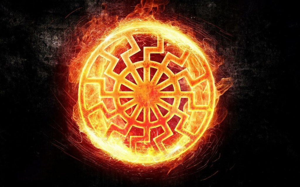 Символ черное солнце