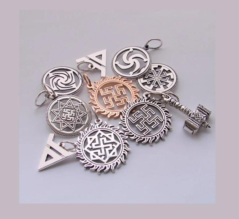 Амулеты из серебра