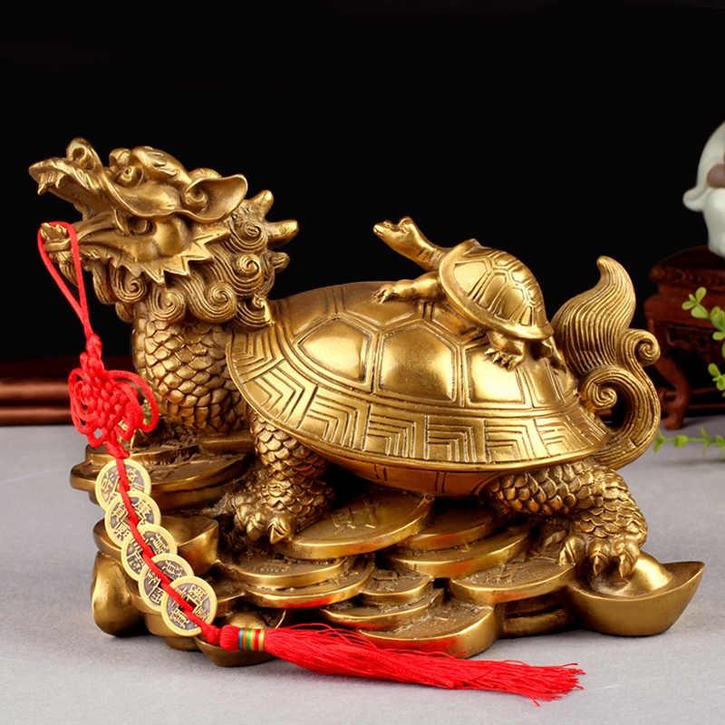 Китайский дракон и черепаха