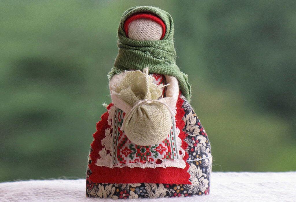 Зольная кукла оберег
