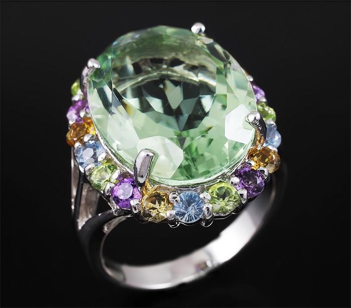 Кольцо из Празиолита