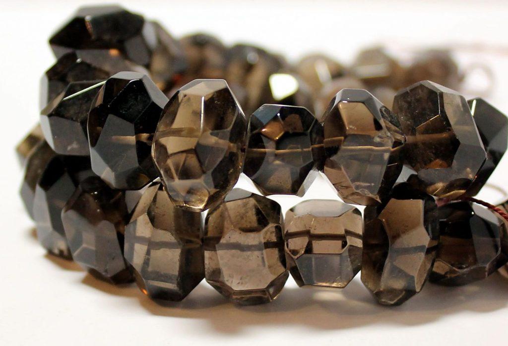 Ожерелье с Раухтопазом