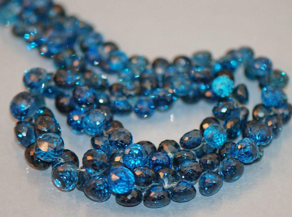 Топаз ожерелье