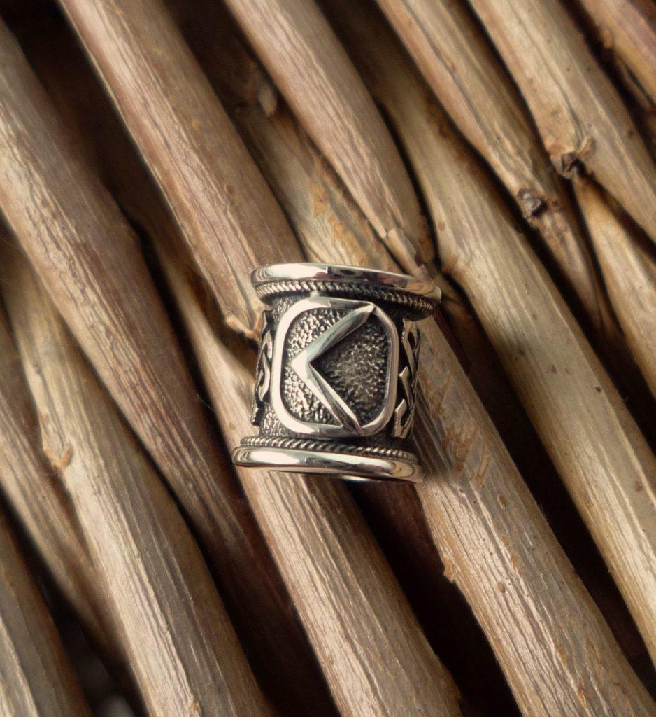 Кольцо с руной Кано