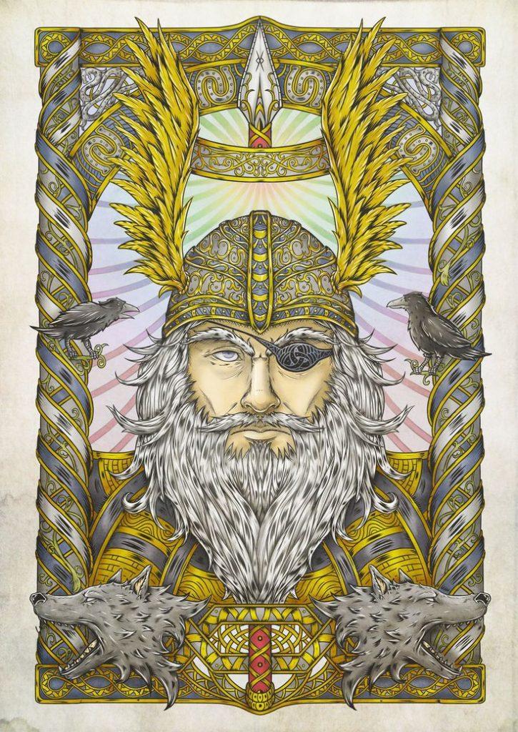 бог Один
